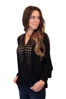 onyx blouse