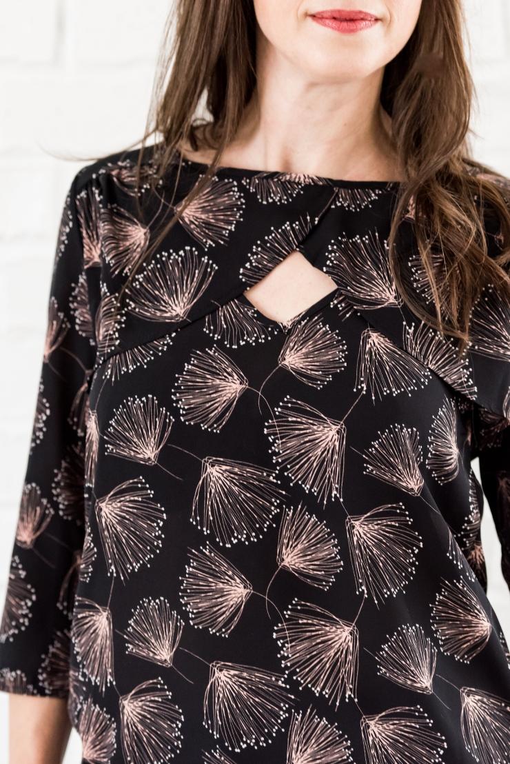 floral blouse 1