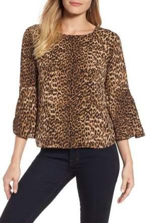 3v3 leopard top