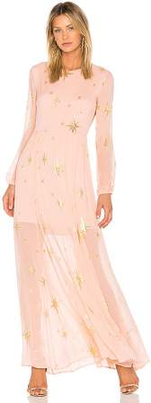 3v3 rose gold dress