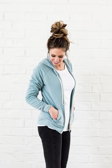adrian hoodie blue - 2