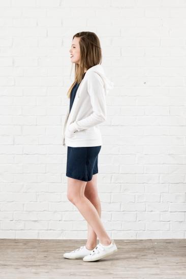 adrian hoodie white - 2
