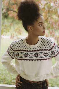 5- fair isle sweater