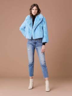 9- faux fur jacket